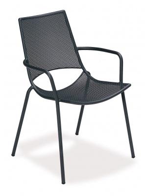 Lot de 4 fauteuils de jardin Ala noirs