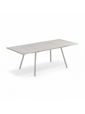 Table rectangulaire extensible Bridge ciment
