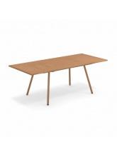 Table rectangulaire extensible Bridge cuivre