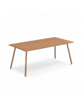 Table rectangulaire Bridge 180 cm cuivre