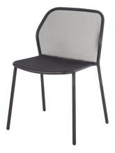 Lot de 4 chaises Darwin fer ancien
