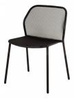 Lot de 4 chaises Darwin noires