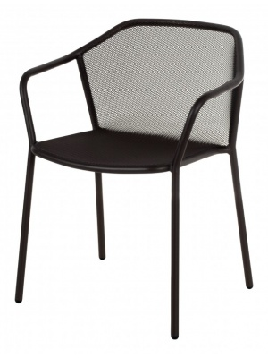 Lot de 4 fauteuils Darwin noirs