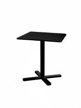 Table carrée pliante Darwin 70 noire
