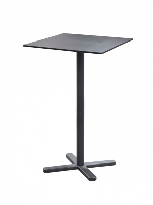 Table haute Darwin fer ancien