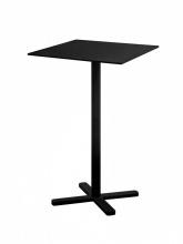 Table haute Darwin noire