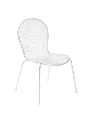 Lot de 4 chaises Ronda Blanches
