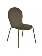 Lot de 4 chaises Ronda Marron