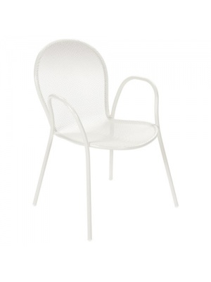 Lot de 4 fauteuils Ronda Blancs
