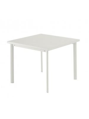Table carrée Star 90cm Blanche