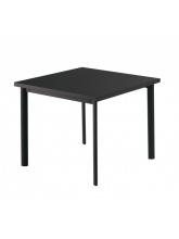 Table carrée Star 90cm Noire
