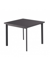 Table carrée Star 90cm Fer ancien