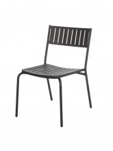 Lot de 4 chaises Bridge fer ancien