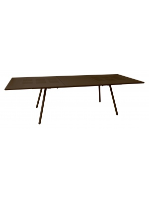 Table rectangulaire extensible Bridge marron