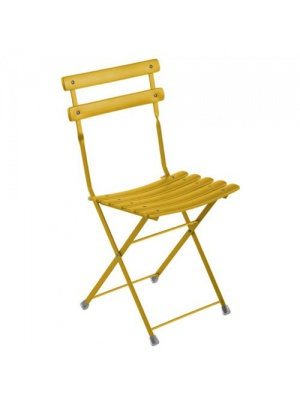 Lot de 2 chaises arc en ciel oranges