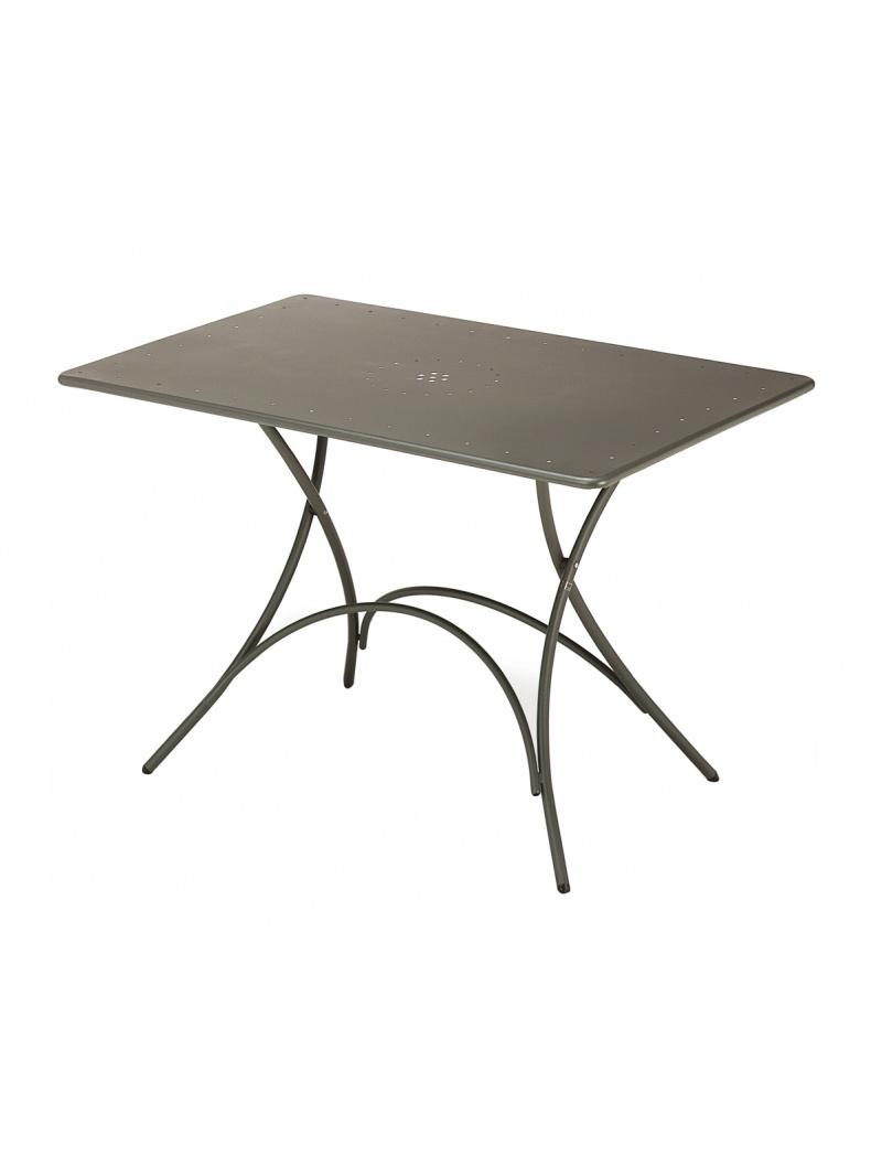 Table rectangulaire pliante pigalle emu - Table rectangulaire pliante ...