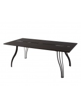 Table rectangulaire Vera 160cm extensible