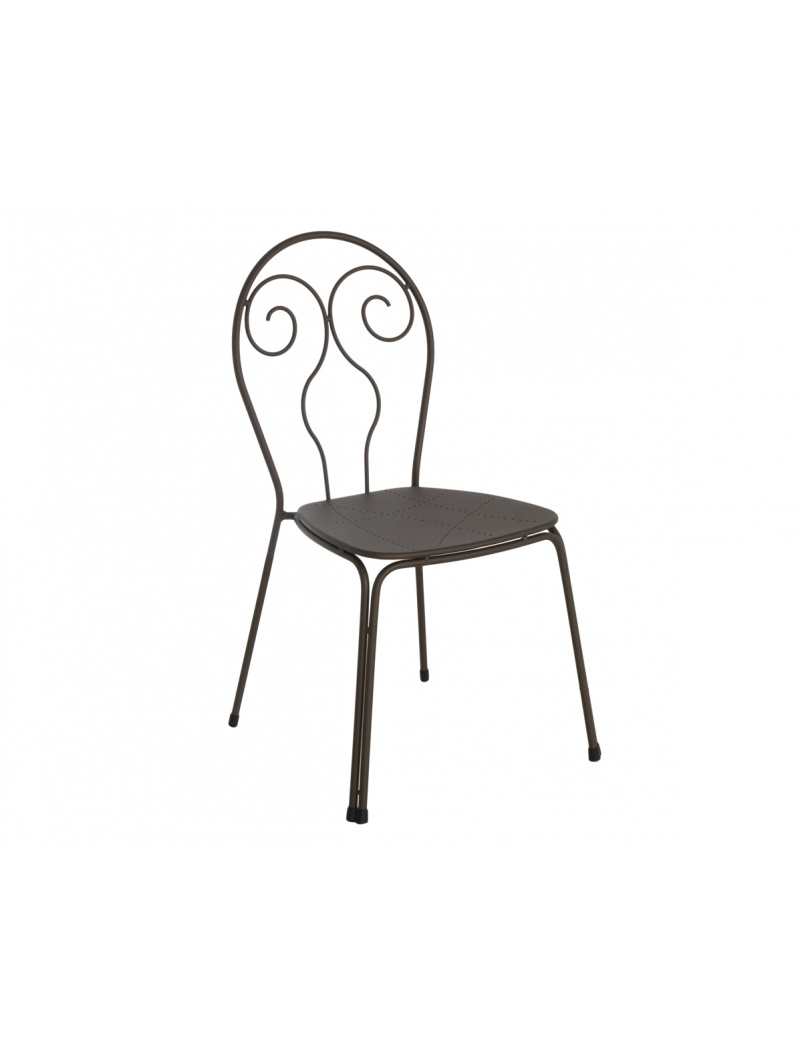 EMU Lot de 4 chaises Caprera