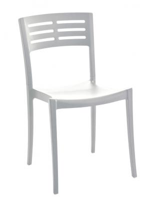 Chaise Urban Blanc glacier