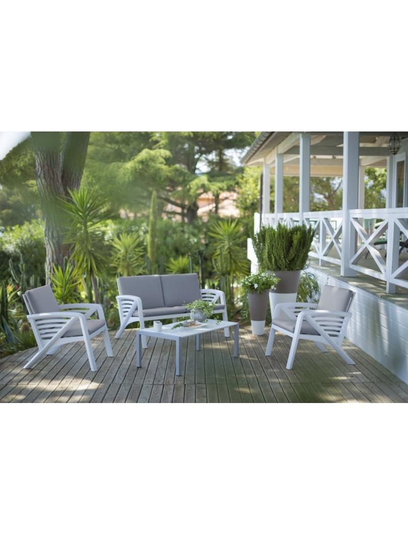 salon de jardin corfou grosfillex salons de jardin complets jardin concept. Black Bedroom Furniture Sets. Home Design Ideas