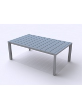 Table basse Sunset Gris platinium