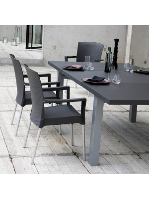 Table Ineo + 2 fauteuils Ineo