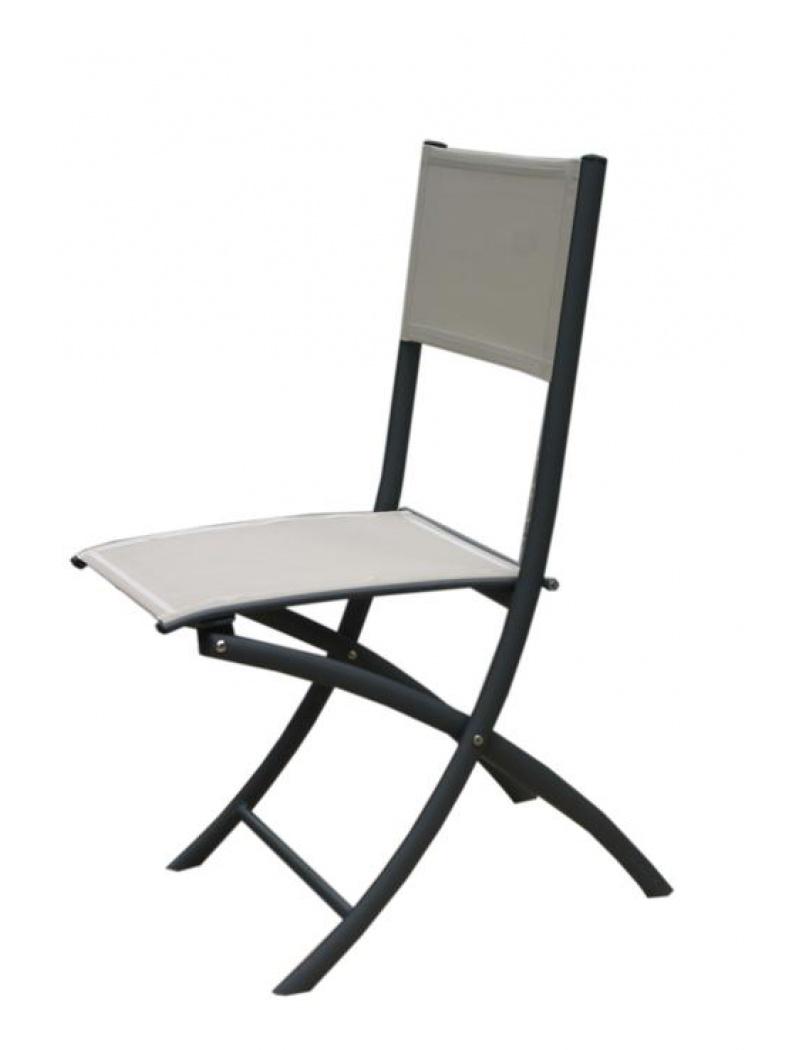 Chaise pliante Jean's toile Phifer sable