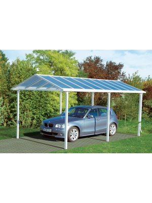 Carport platinium finition alu
