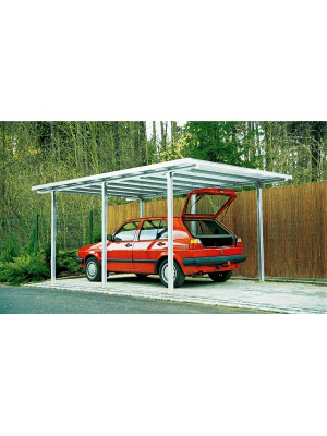 Carport tradition finition alu