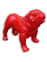 BullDog Américain L debout Rouge