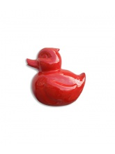 Canard taille L Rouge