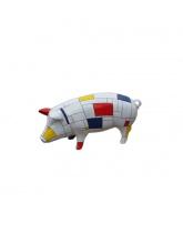 Cochon mosaïque