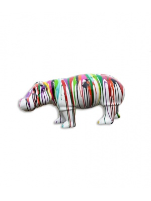 Hippopotame taille L Design trash