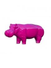 Hippopotame XL Rose