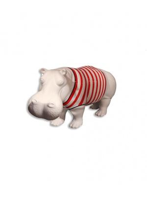 Hippopotame XL marinière