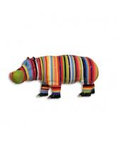 Hippopotame XL multicolor