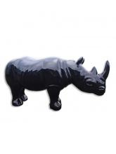 Rhinocéros taille XL Noir