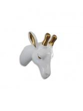 Trophée Girafe blanc