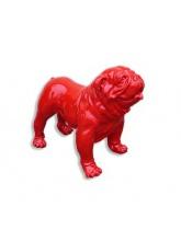 BullDog Américain M debout Rouge