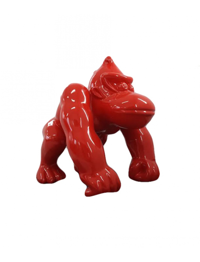 Gorille Rouge Infinytoon Objets D Co Statues Jardin Concept