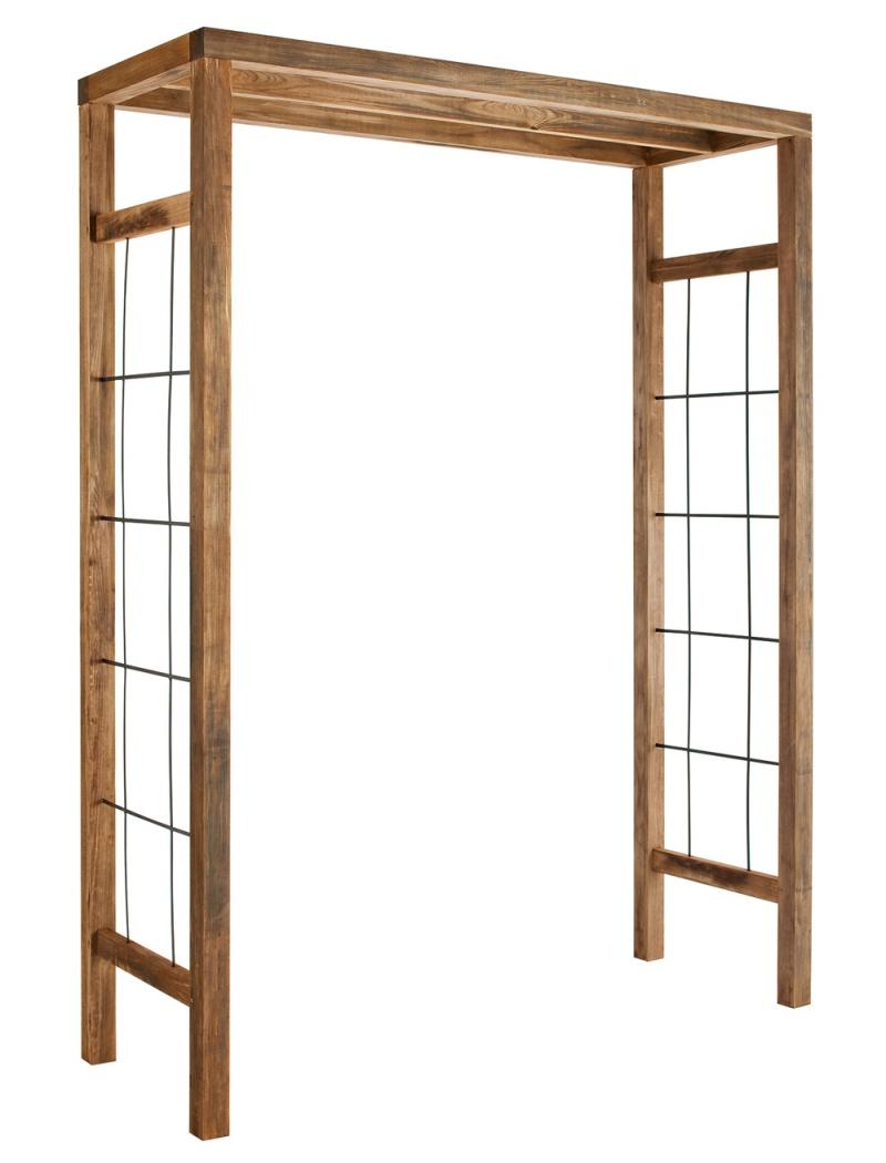 pergola ikebana burger jardipolys tonnelle et pergola bois jardin concept. Black Bedroom Furniture Sets. Home Design Ideas