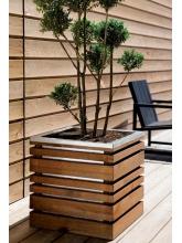Jardinière en bois Lign Z 60 cm