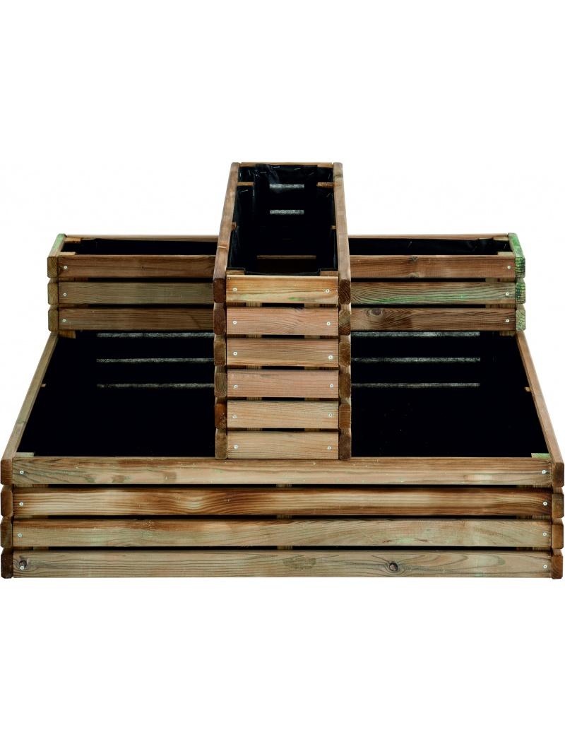 carr potager kub burger jardipolys carr s potagers jardin concept. Black Bedroom Furniture Sets. Home Design Ideas