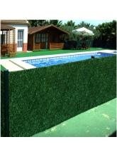 Haie végétale artificielle LUX 1,5 x 3m
