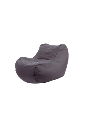 Pouf Chilly Bean Gris anthracite