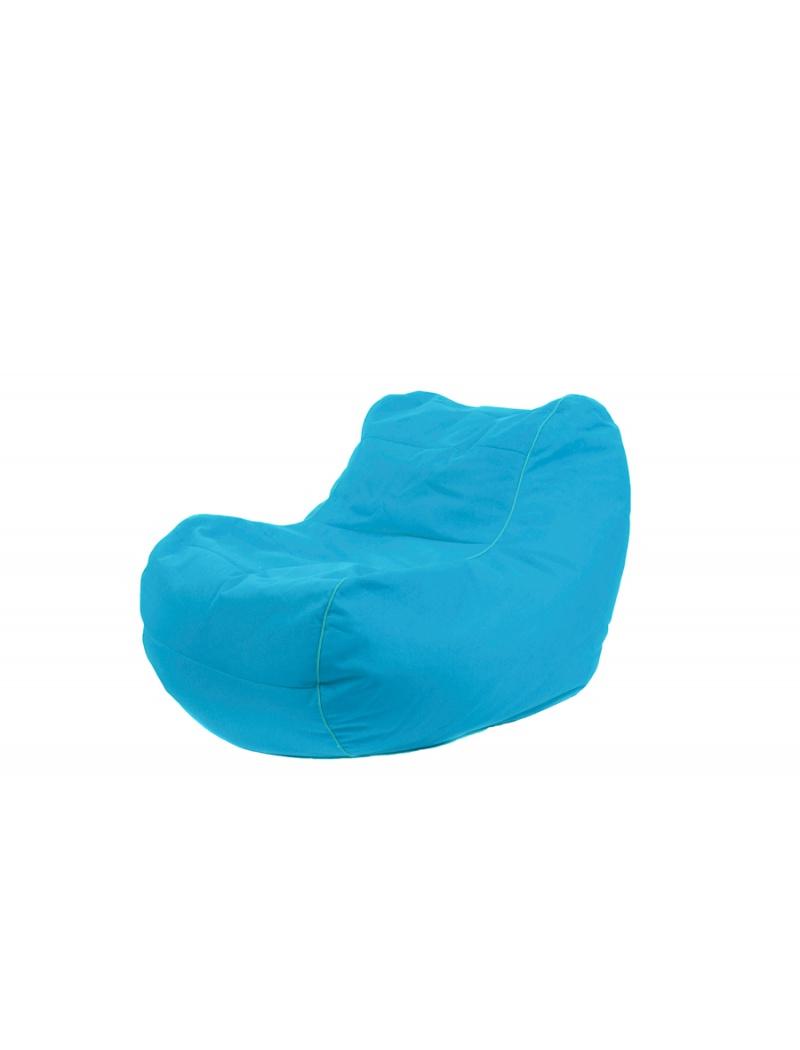 Jumbo bag Pouf Chilly Bean Bleu pétrole