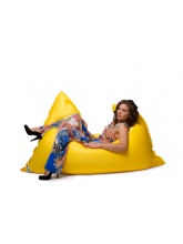 Pouf flottant Jaune Swimming Bag