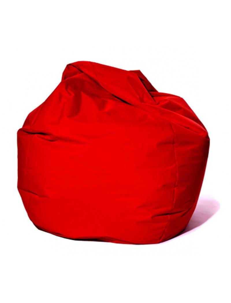 Jumbo bag Pouf Scuba XXL Rouge