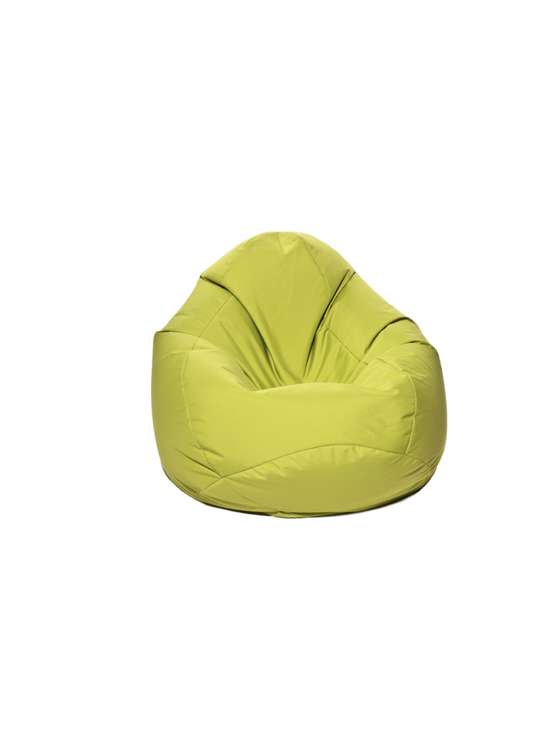 pouf exterieur pouf poire scuba xxl vert anis jumbo bag. Black Bedroom Furniture Sets. Home Design Ideas