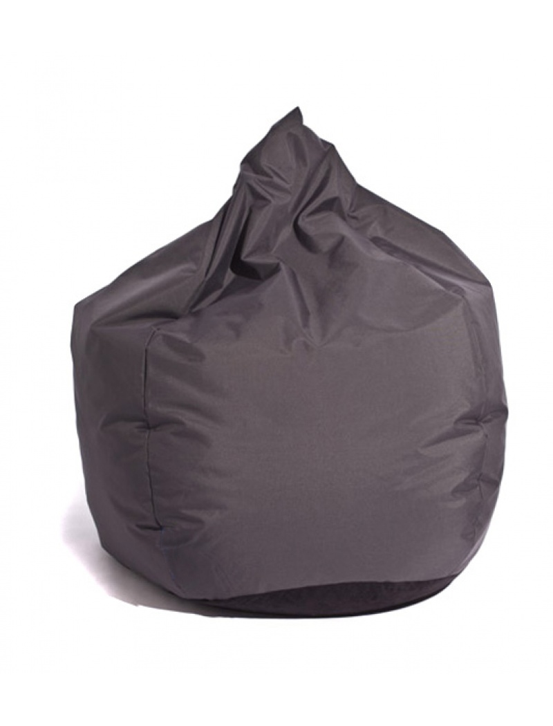 pouf exterieur pouf poire anthracite jumbo bag. Black Bedroom Furniture Sets. Home Design Ideas